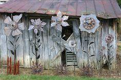 welded metal Yard Art | Metal Art, by D. Goostree