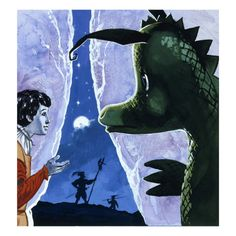 The Gentle Dragon Giclee Print by Gerry Embleton at AllPosters.com