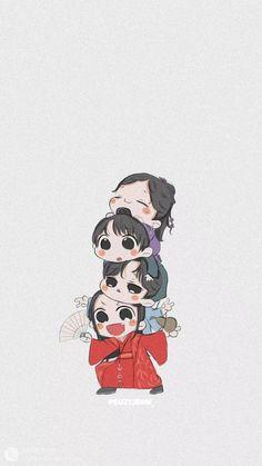 Chibi Wallpaper, Fall Wallpaper, Cute Anime Wallpaper, Loli Kawaii, Chinese Cartoon, One Piece Comic, Handsome Anime, Angel Art, Anime Demon