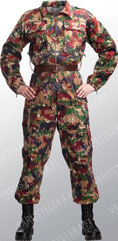 Swiss Army Camouflage Uniform 85