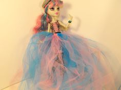 Rochelle Inspired Trash Tutu for Monster High by FreakGearbyHM, $5.00