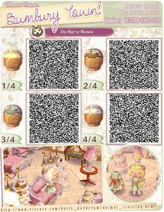 Hair Braids Animal Crossing New Leaf Qr Codes Pinterest Animal