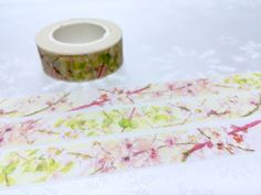 colorful flower Washi tape 10M pretty wild flower by TapesKingdom