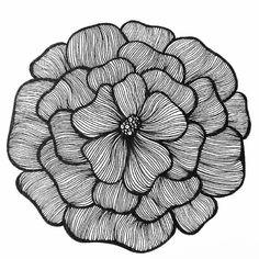 My Art — Daily drawing 214 Dibujos Zentangle Art, Zentangle Drawings, Doodle Drawings, Drawing Sketches, Zentangles, Doodle Art Designs, Doodle Patterns, Zentangle Patterns, Mandala Art