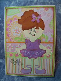 Carol's Cards, cricut, paper doll dress up