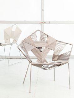 Gaga easy chair #white