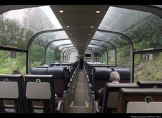 Like going through a tunnel of trees ~ http://www.viarail.ca/en