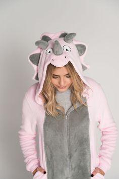 30ee0cf42a Triceratops onesie costume