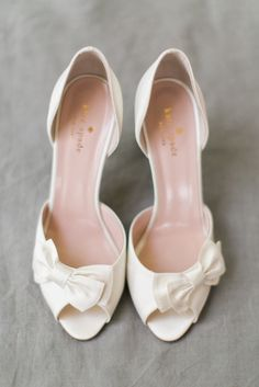 Kate Spade Wedding Shoes | ©Elisabeth Carol Photography