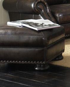 Carlton Ottoman | Simon Li Furniture | Home Gallery Stores