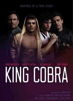 Christian Slater, James Franco, Keegan Allen and Garrett Clayton in King Cobra (2016)