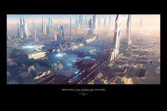 Alien Space City...