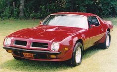 1974 Pontiac Trans Am.  Original SD-455 car.   Turbo 400 automatic transmission.  8.5 10-bolt with aftermarket 3.73 gears.    Painted candy apple red in 1979.     Best 1/8-mile time: 7.60 @ 90 mph.   Best 60 ft. time: 1.67    Entered by Jeff Redhage  Sullivan, Missouri