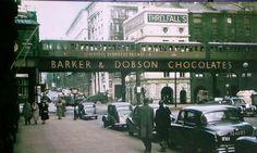 Overhead Railway, Liverpool, May 1955