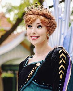 Anna Disney, Disney Nerd, Disney Dream, Disney Love, Disney Magic, Disney Frozen, Disney Parks, Anna Frozen, Frozen Cosplay
