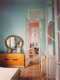 Cuban colours and interiors
