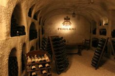Wine cellar Ferrari