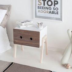 Ottone Bedside Table - Walnut - alt_image_three