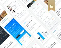 Ознакомьтесь с этим проектом @Behance: «Smartb Platform» https://www.behance.net/gallery/47855329/Smartb-Platform