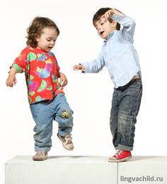 движения для детей на английском