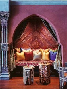 Moroccan Themed Spaces