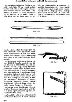 Eszközök receháló készíté