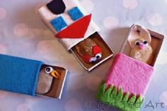 Matchbox pocket friends - Birthday Party Craft and Party Favor Ideas - ParentMap