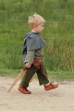 A whole outfit - even shoes and little belt pouch! So cute!