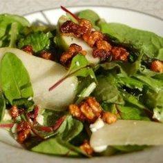Roquefort Pear Salad - Allrecipes.com