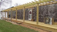 See a gorgeous manufactured home exterior remodel!