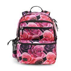 De fedeste Jeva Square skoletaske, 2-4 klasse, Rose Jeva  til Rygsække til børn til hverdag og til fest