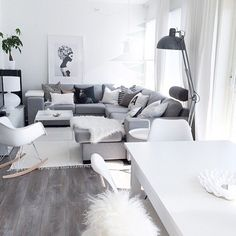 ✧ home: ✧ My Living Room, Home And Living, Living Room Decor, Living Spaces, Living Room Inspiration, Home Decor Inspiration, The Way Home, Scandinavian Home, My New Room