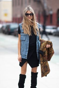 click for our roundup of the best denim vests under $100