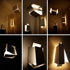 flexible interactive box lights