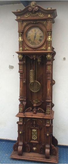 Traumhaftschöne alte Lenzkirch Lfs Standuhr um 1850 Museumsstück !!!