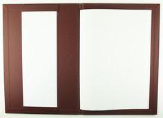Carbon Rod   A4 - Mangan Metallic Buckram - Strip Pocket