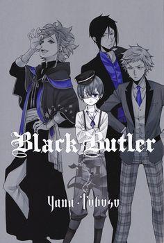 >>> Black Butler, InsideCover
