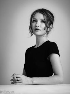 """Legend Star Emily Browning on the Deceptive Appeal of the Bad Boy: """"You Can't Change Them"""" from InStyle.com"""
