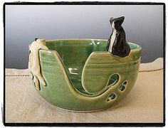 Yarn Bowl with cats :)