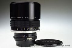 NIKON AI-S NIKKOR 135mm f/2 Excellent+ #Nikon