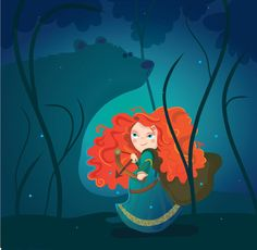 Merida and Elinor - Brave