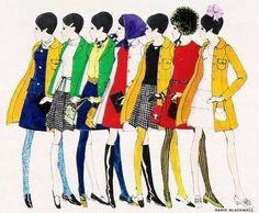 Fashion Illustration #60s