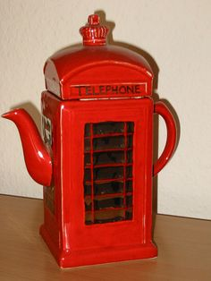 Teapot - Telephone Box