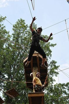 Ropes Course Leadership Day
