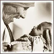 """How can there be too many children? That is like saying there are too many flowers.""--Mother Teresa"
