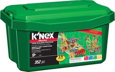 Simple and Compound Machines STEM Building Set, by K'Nex