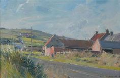 On the road to Boulby by David Curtis