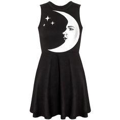 Moonchild Skater Dress [B] | KILLSTAR