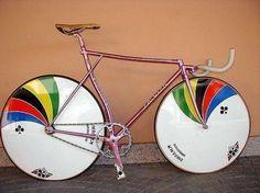 Colnago pursuit bikes