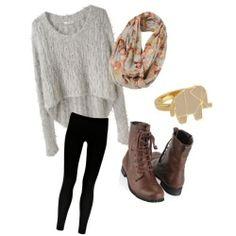 Comfortable so wear to school cuz it's cute too!!:)